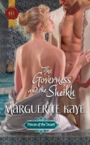 Kaye -  Princes du Désert - Tome 3 : Le prince du désert de Marguerite Kaye The-Governess-and-the-Sheikh-NA