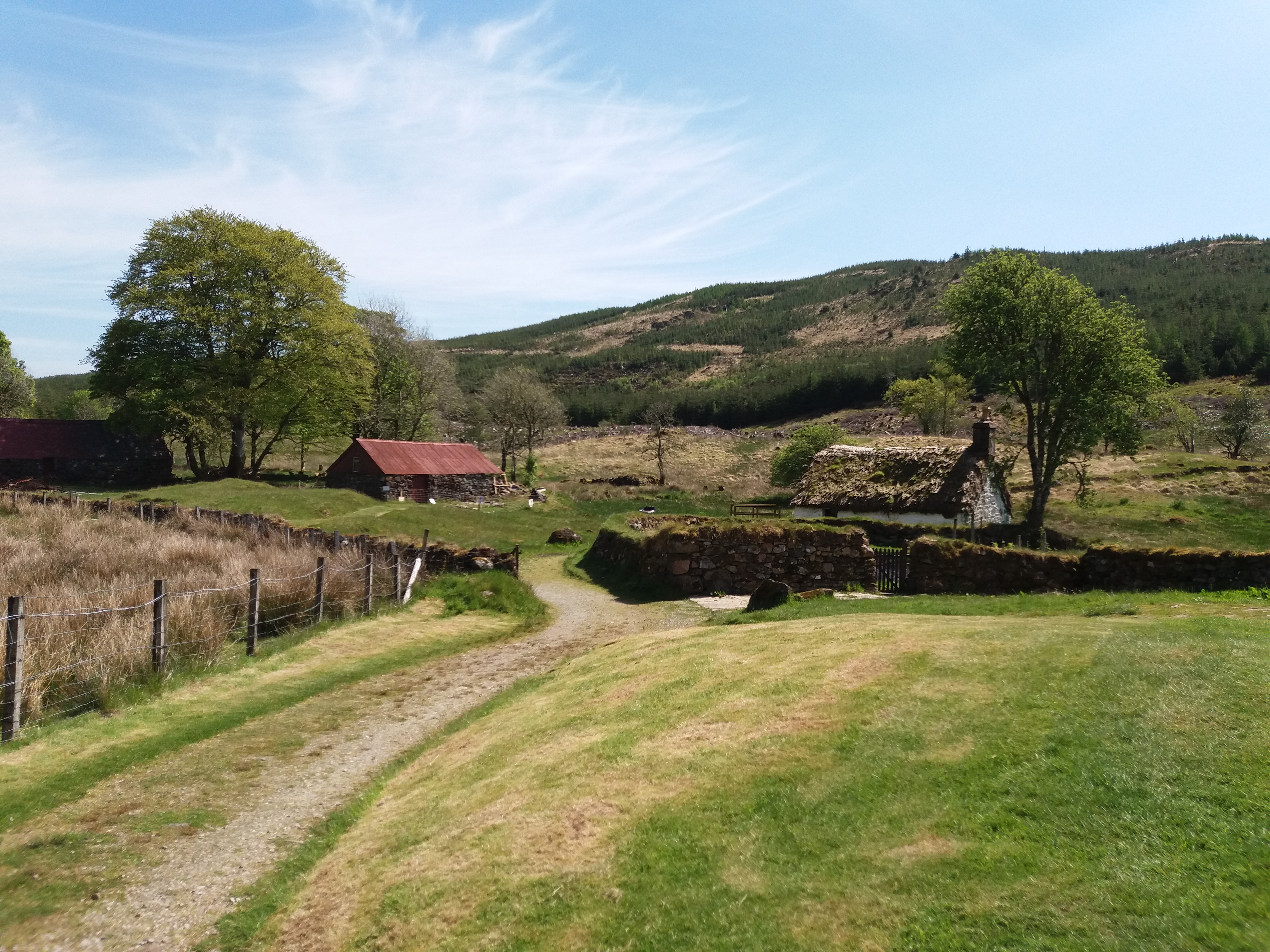 A Visit to Auchindrain – A Highland Village